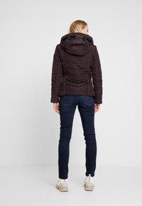 Q/S designed by - LANGARM - Light jacket - blackberry - 2