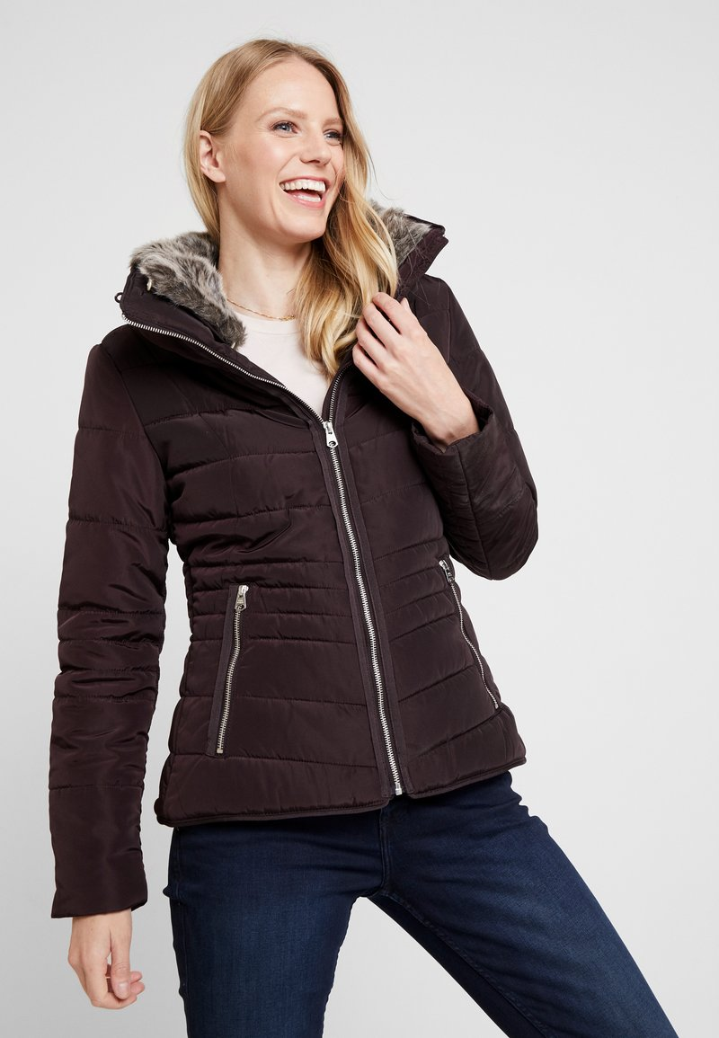 Q/S designed by - LANGARM - Light jacket - blackberry