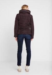Q/S designed by - LANGARM - Light jacket - blackberry - 3