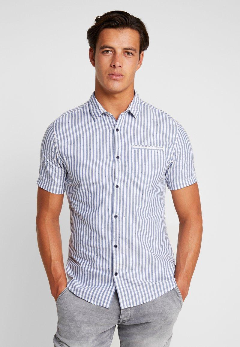 Q/S designed by - KURZARM - Overhemd - indigo