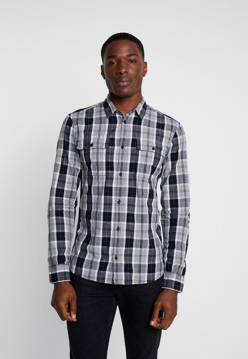 Q/S designed by - LANGARM - Shirt - black