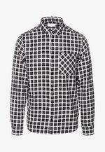 Shirt - white chec
