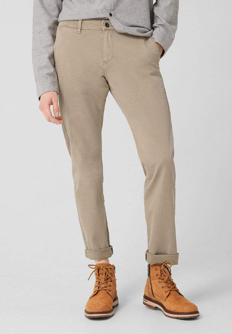 Q/S designed by - Trousers - beige