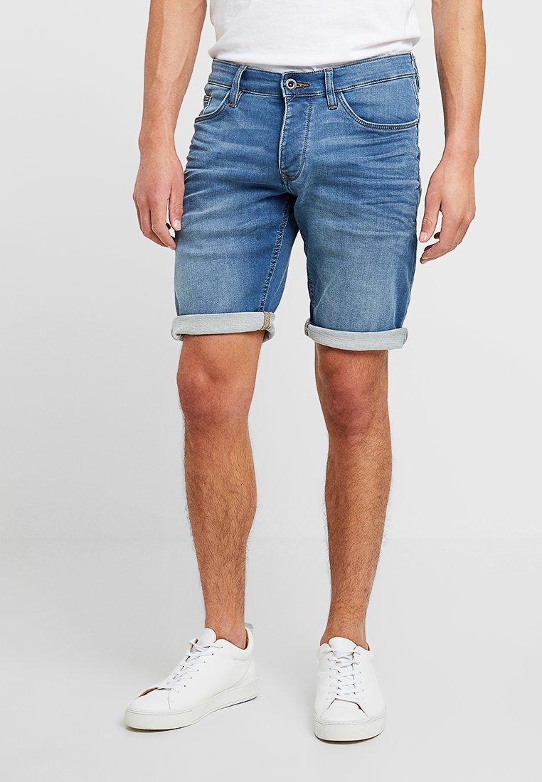 Q/S designed by - Jeans Shorts - heavy ston