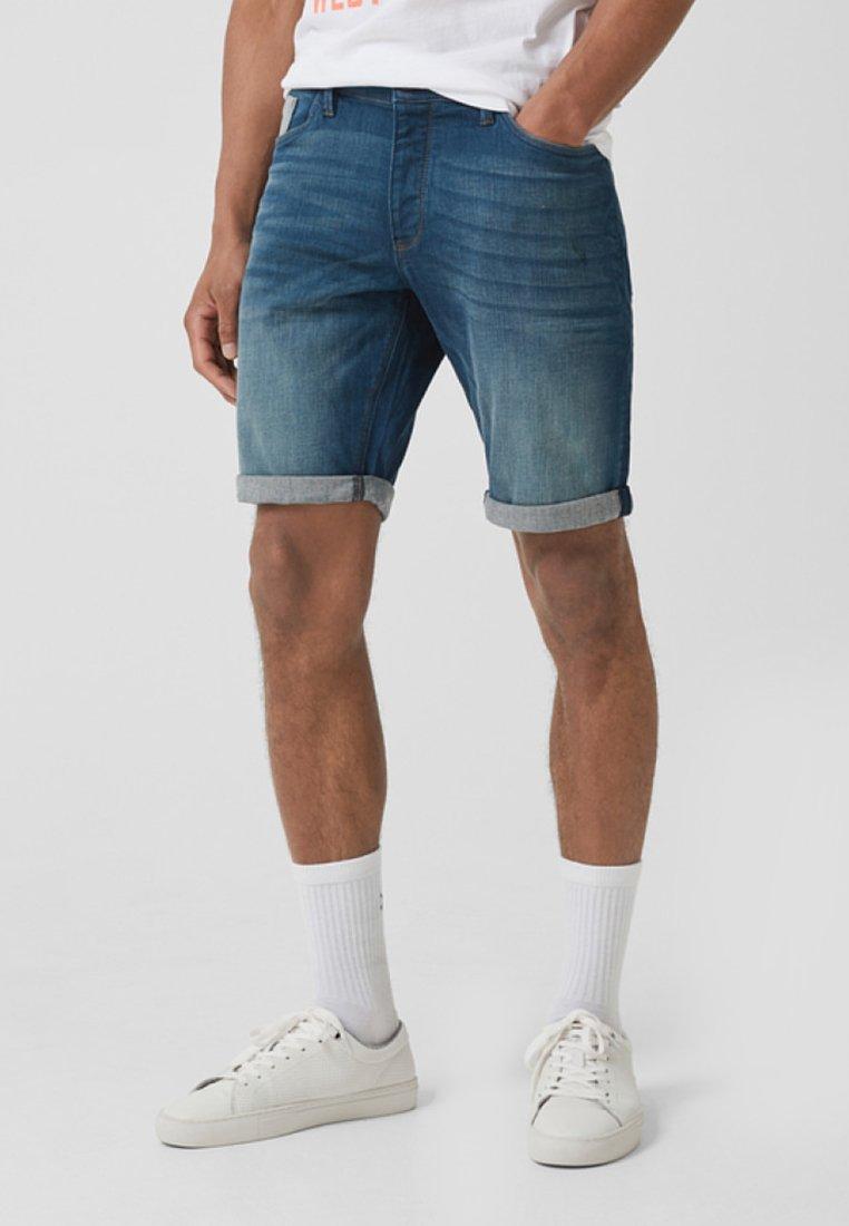 Q/S designed by - Denim shorts - dark-blue