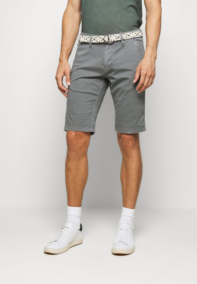 BERMUDA - Shorts - dusty grey