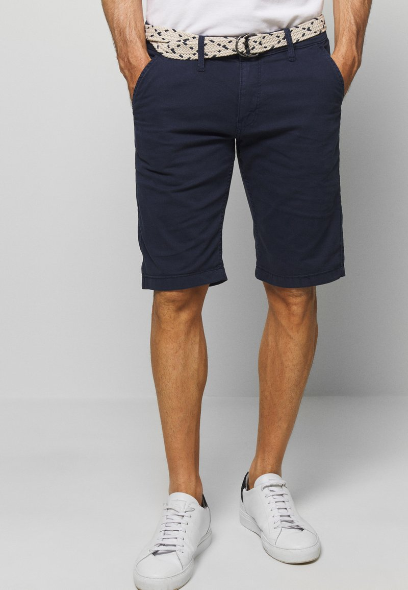 Q/S designed by - BERMUDA - Shorts - blue