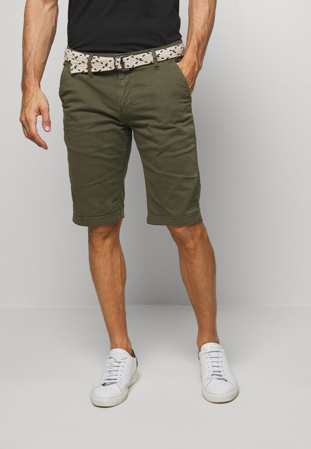 BERMUDA - Shorts - misty oliv