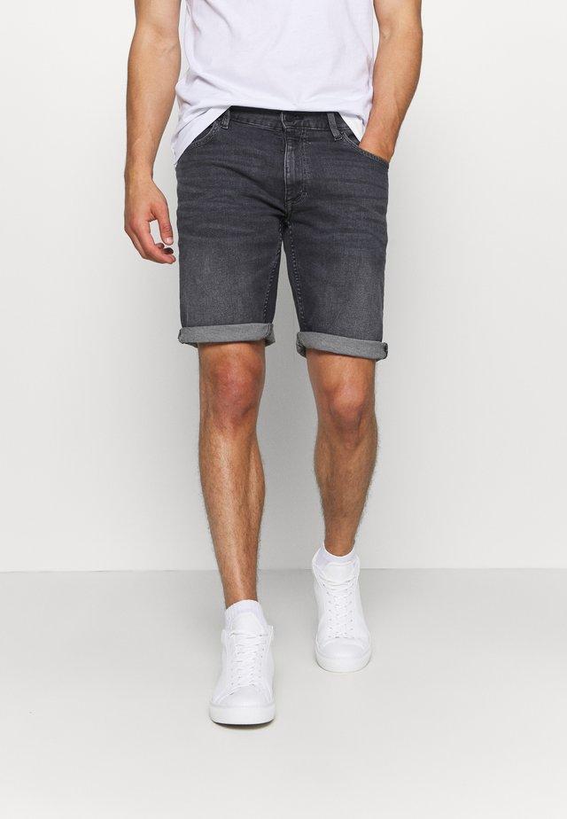 Jeansshort - grey/black
