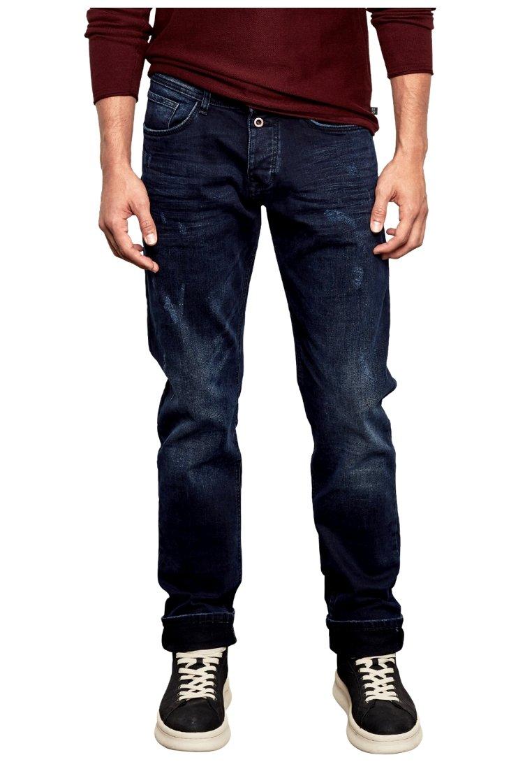 Q/S designed by - RICK  - Straight leg jeans - dark-blue denim