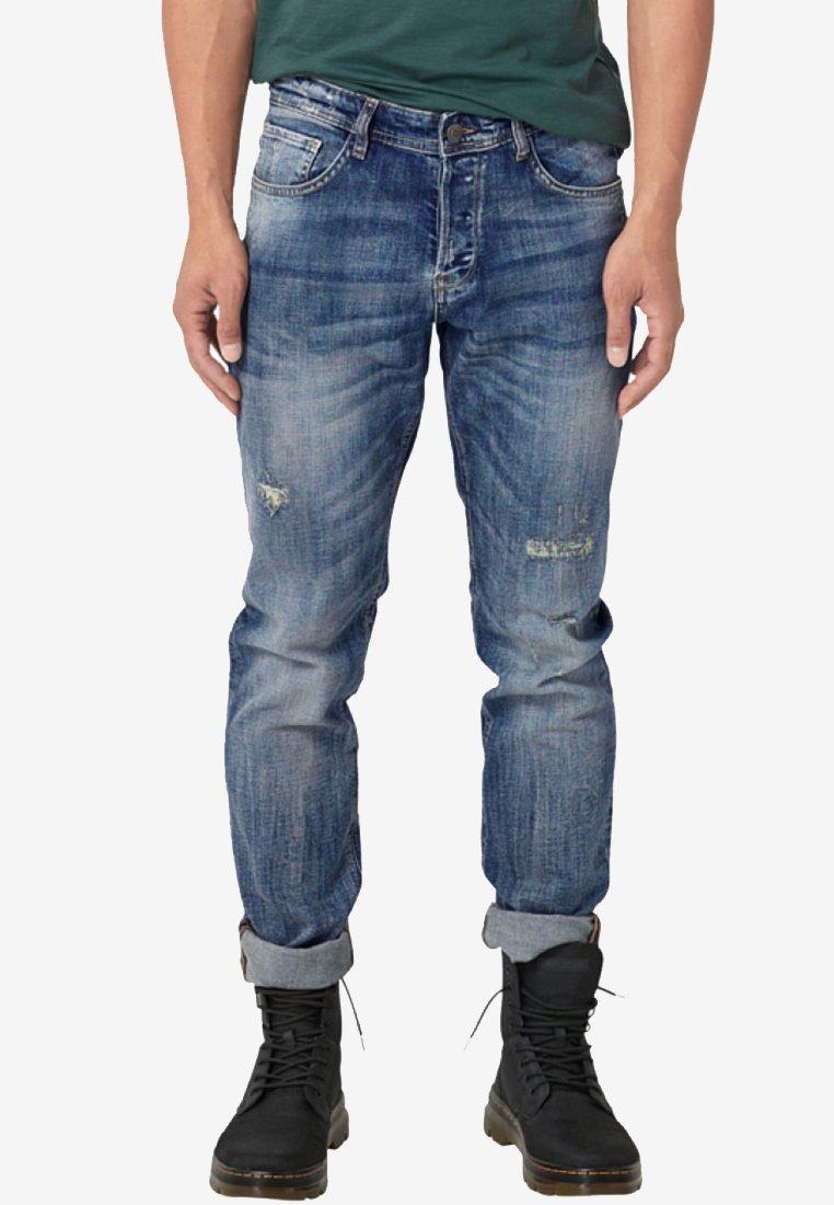 Q/S designed by - Straight leg jeans - dark-blue denim