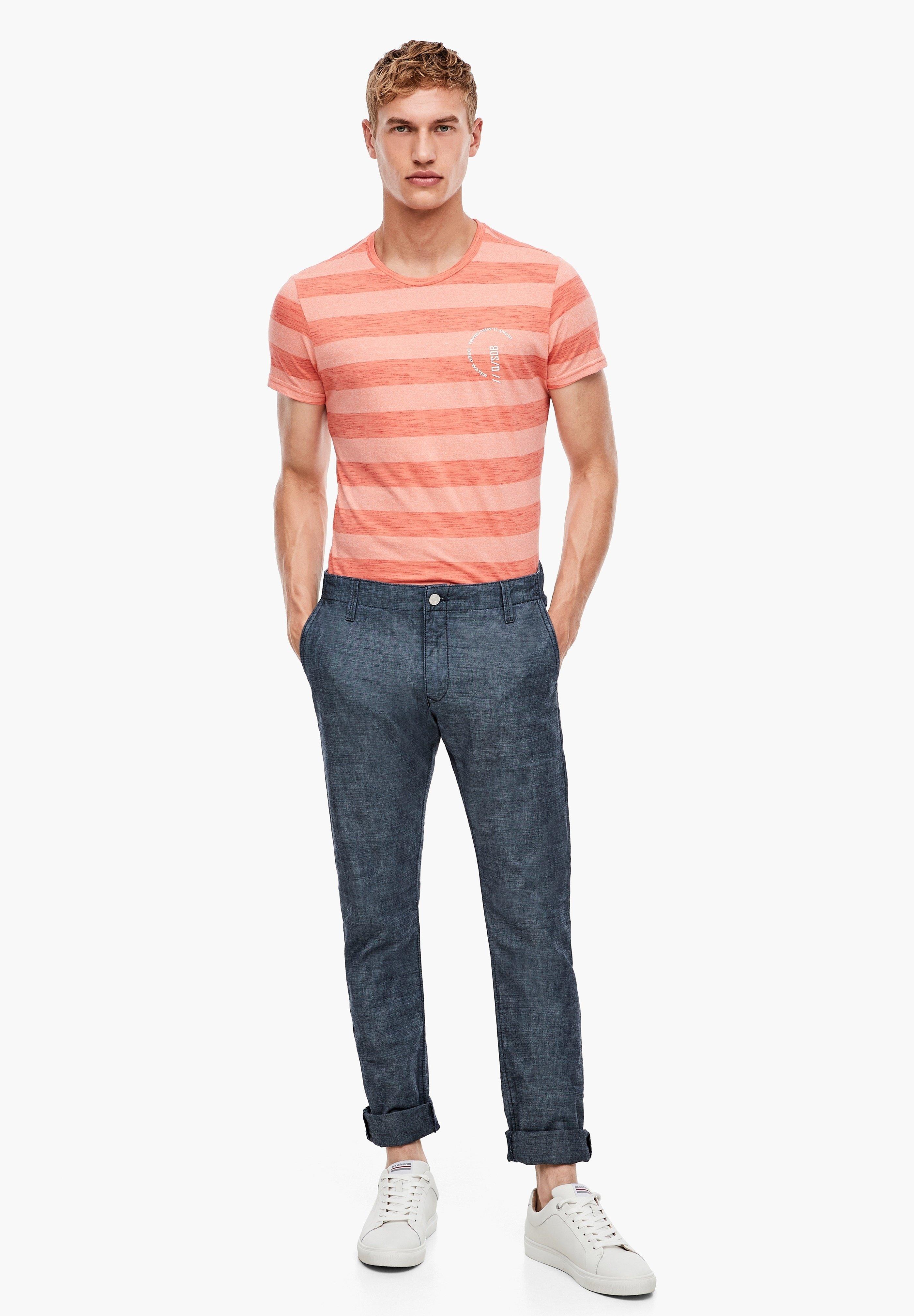Q/S designed by Slim fit jeans - blue