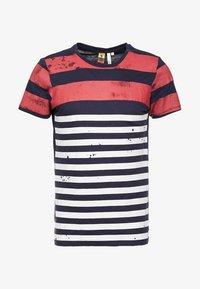 Q/S designed by - KURZARM - T-shirt z nadrukiem - red - 4