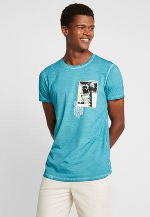 KURZARM - T-shirt print - turquoise
