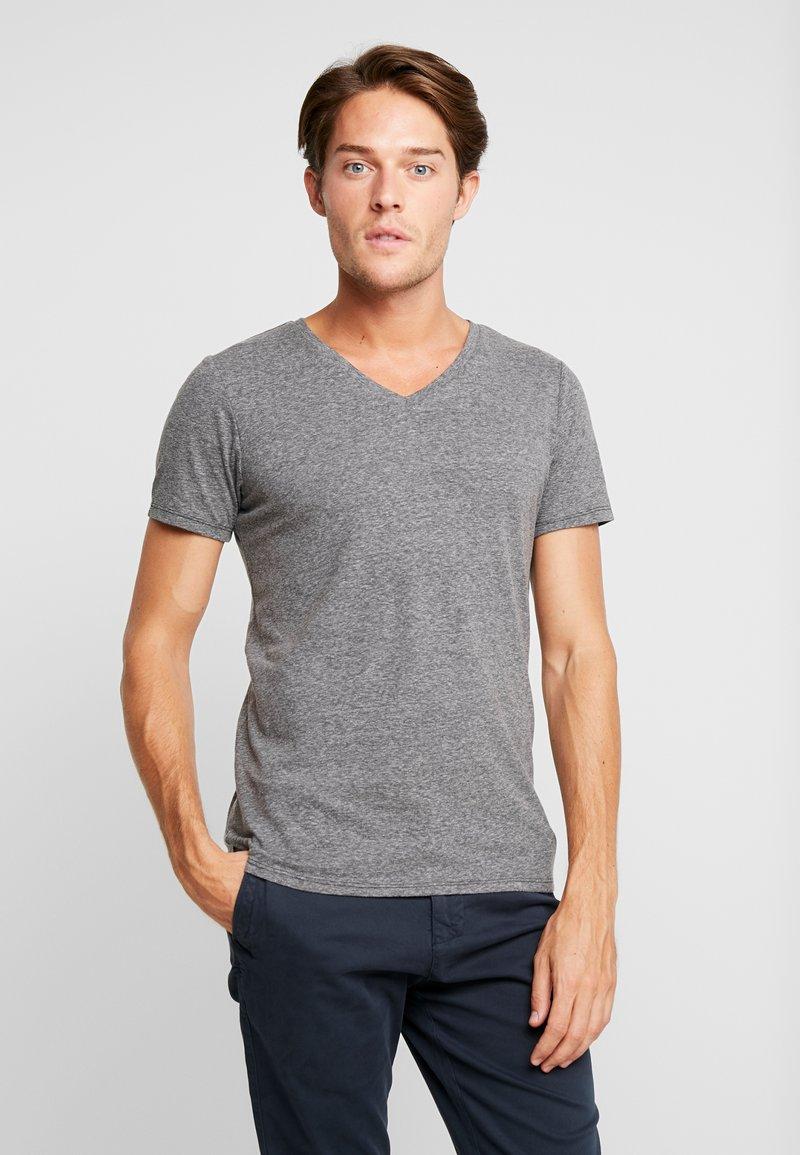 Q/S designed by - KURZARM - T-shirt basic - dark grey