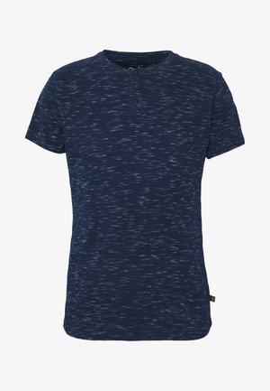 Jednoduché triko - blue night