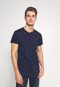 Q/S designed by - T-shirt basique - blue night - 0