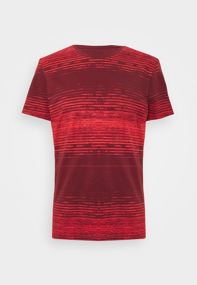 T-shirts print - red