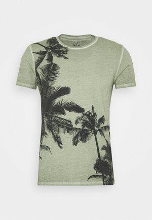 SHORT SLEEVE - T-shirt print - seagrass