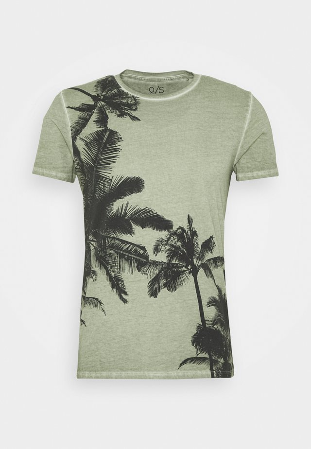 SHORT SLEEVE - T-Shirt print - seagrass