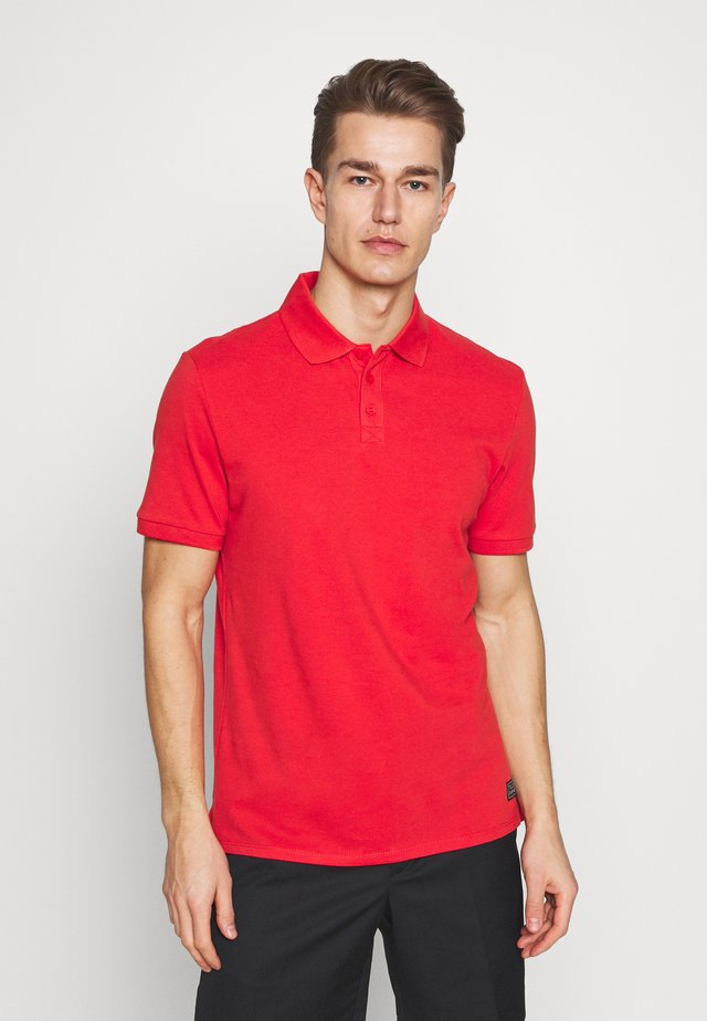 T-SHIRT KURZARM - Polo - red