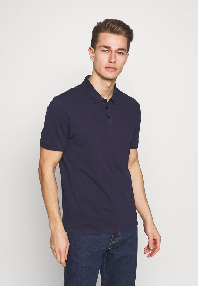 T-SHIRT KURZARM - Polo - tender blu