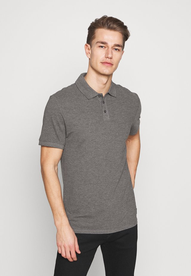 T-SHIRT KURZARM - Polo - dark grey
