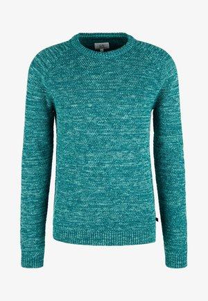 Jumper - turquoise melange