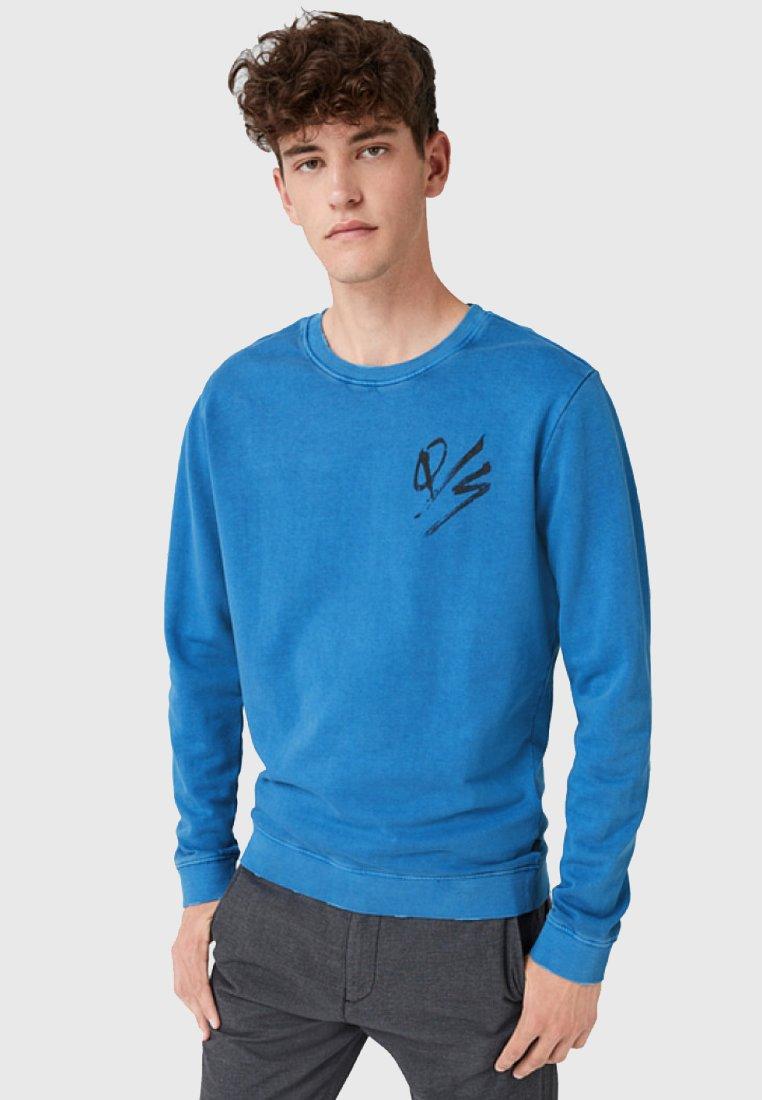Q/S designed by - IM USED-LOOK - Sweatshirt - deep ultramarine