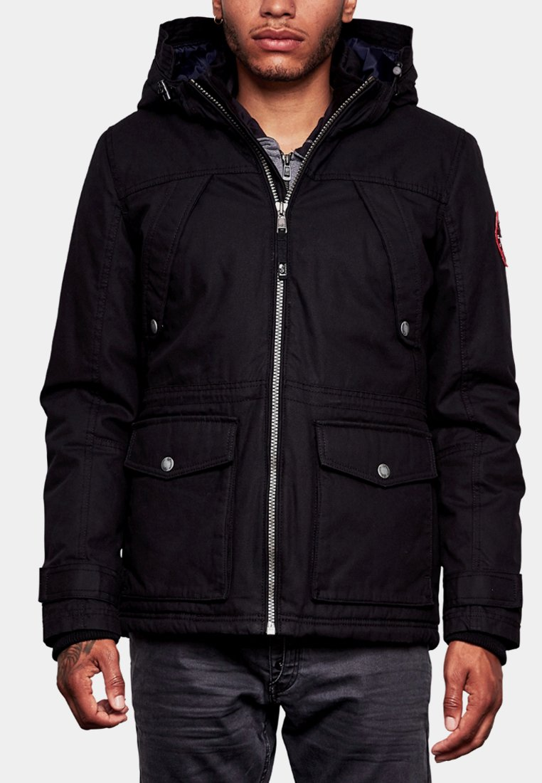 Q/S designed by - WATTIERTE - Winter jacket - black