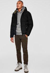 Q/S designed by - Winter jacket - black - 1