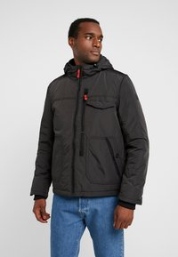 Q/S designed by - OUTERWEAR - Winterjas - black/grey - 0