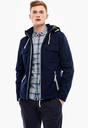 Light jacket - sapphire blue