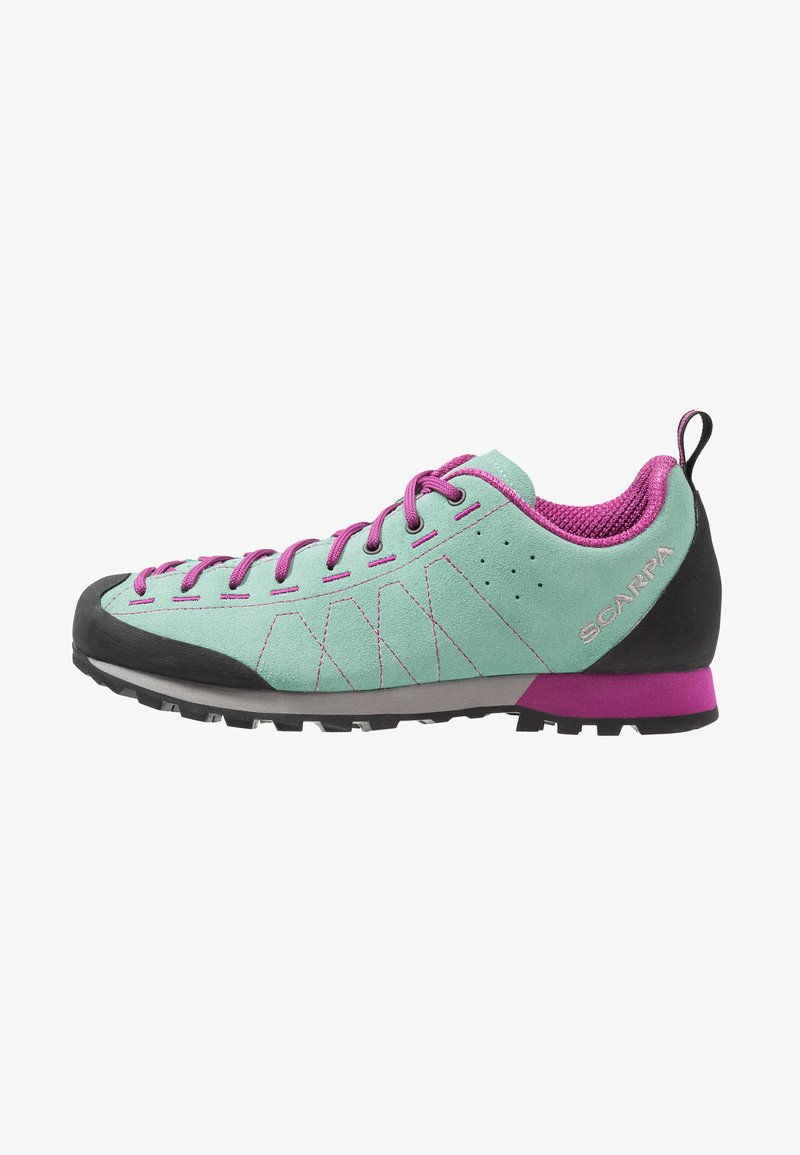 Scarpa - HIGHBALL   - Hiking shoes - reef water/fuxia