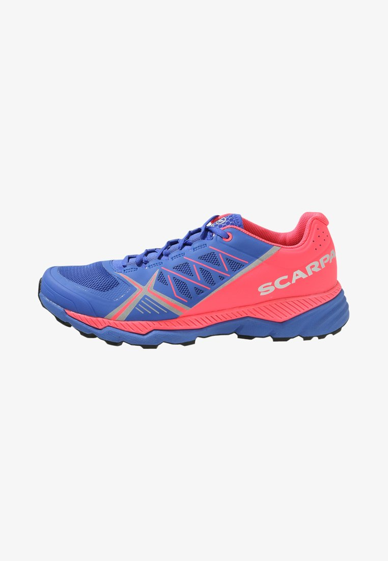 Scarpa - SPIN RS 8 - Trail running shoes - dazzling blue/punch fluo