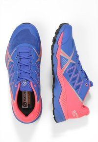 Scarpa - SPIN RS 8 - Trail running shoes - dazzling blue/punch fluo - 1