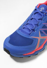 Scarpa - SPIN RS 8 - Trail running shoes - dazzling blue/punch fluo - 5