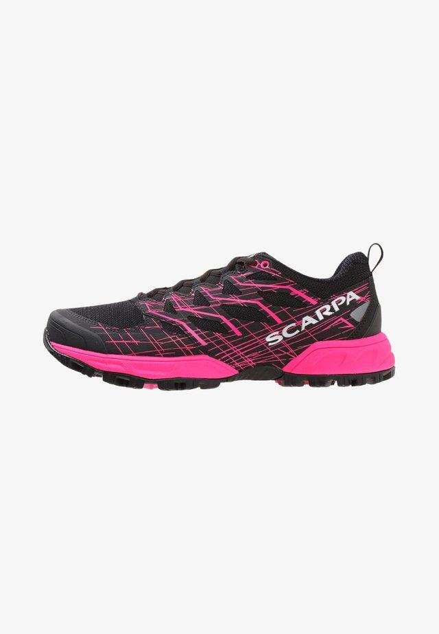 NEUTRON 2  - Trail running shoes - black/pink glow