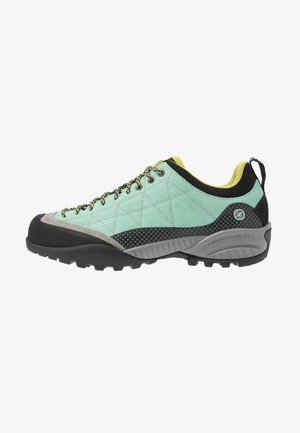 ZEN PRO - Hiking shoes - reef water/light green