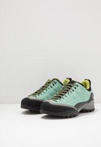 Scarpa - ZEN PRO - Hiking shoes - reef water/light green - 2