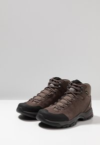Scarpa - MORAINE PLUS MID GTX - Scarpa da hiking - charcoal/dark plum
