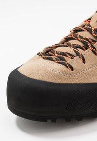 Scarpa - KALIPÈ - Hiking shoes - beige/orange fluo - 5