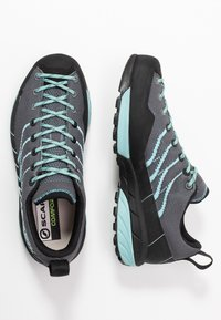Scarpa - MESCALITO - Hiking shoes - gray/aqua - 1