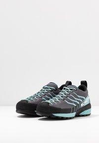 Scarpa - MESCALITO - Hiking shoes - gray/aqua - 2