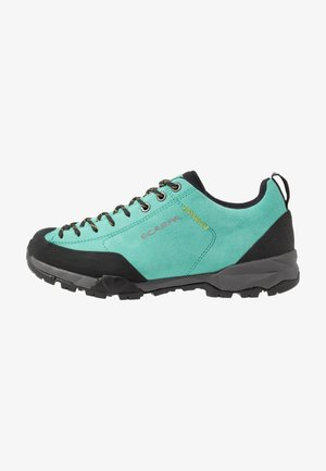 MOJITO - Hiking shoes - green/blue
