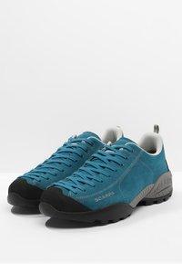 Scarpa - MOJITO GTX - Climbing shoes - atlantic blue - 2
