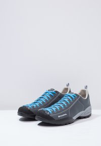 Scarpa - MOJITO FRESH - Hiking shoes - gray/azure - 2