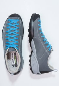 Scarpa - MOJITO FRESH - Hiking shoes - gray/azure - 1