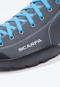 Scarpa - MOJITO FRESH - Hiking shoes - gray/azure - 5