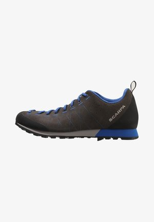 HIGHBALL   - Hiking shoes - shark/turkish blue